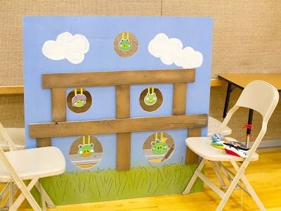 Great Angry Birds party - plenty of ideas