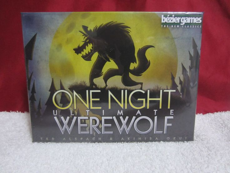 NEW One Night Ultimate Werewolf Game FREE SAME DAY SHIPPING! #BezierGames