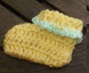 Chaussons bébé au crochet (facile) dans CROCHET/TRICOT DSC09878-copie