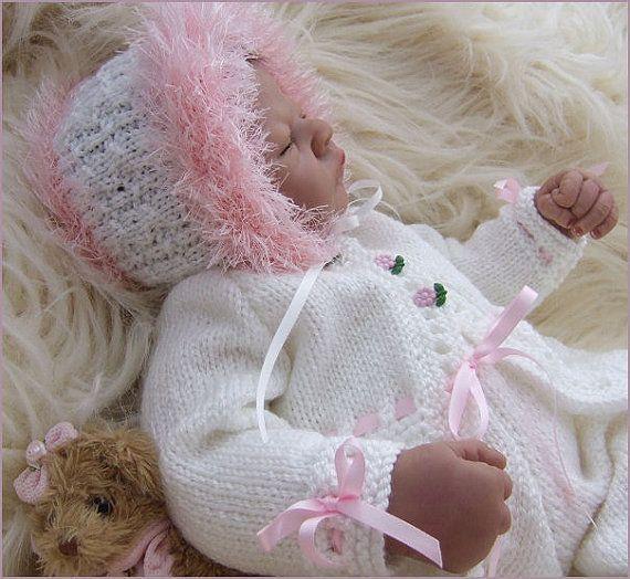 Baby Girls  Knitting Pattern  Instant by PreciousNewbornKnits