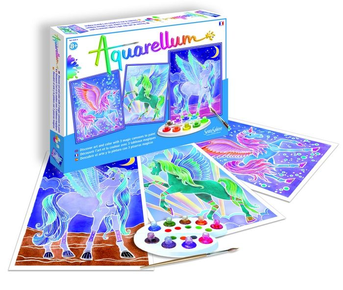 Aquarellum Pegasus Painting Activities Toy Craft Painting