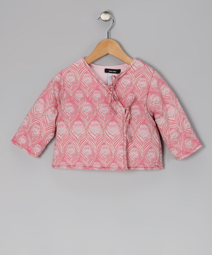 Blossom Liberty Quilted Wrap Jacket - Infant & Toddler