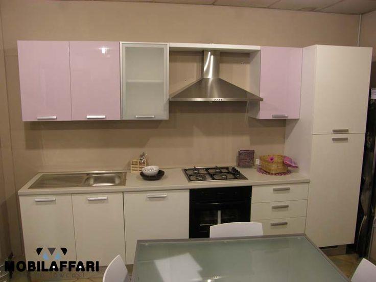 Cucina moderna lineare 330 con lavastoviglie laccata for Cucina moderna 330