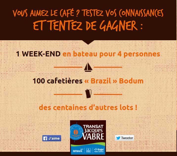 Participer au jeu concours Instant Gagnant Jacques Vabre et tenter de gagner l'un des 20101 dotations mis en jeu - Monsieur échantillons
