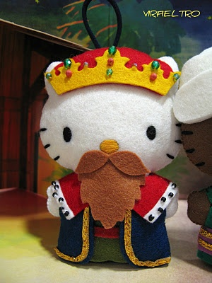 ULTIMAMENTE: HELLO! KITTY SE DISFRAZA DE NAVIDAD!