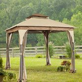 Found it at Wayfair - Manilla 8 Ft. W x 8 Ft. D Steel Gazebo