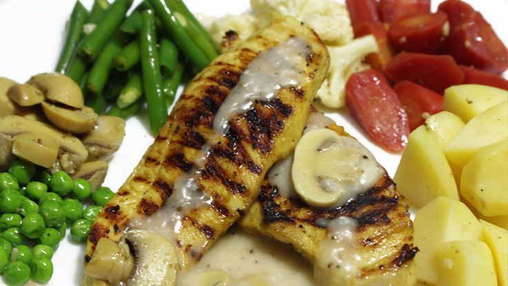 38 best continental food recipes images on pinterest mobile app grilled chicken with mushroom sauce recipe in urdu available at sooperchef learn how to make grilled chicken by watching 2 minute cooking videos forumfinder