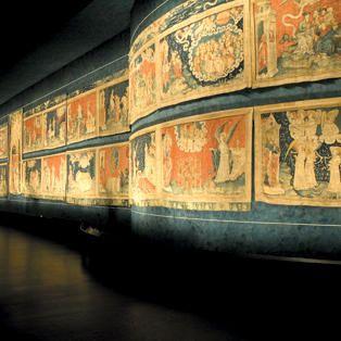 Tenture de l'Apocalypse au château d'Angers de la Loire
