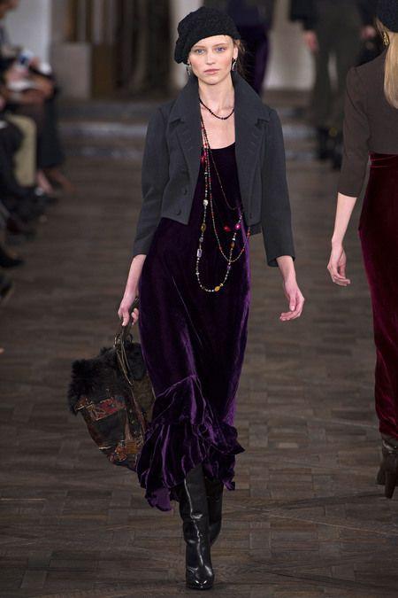 New York Fashion Week 2013: Ralph Lauren, designer.