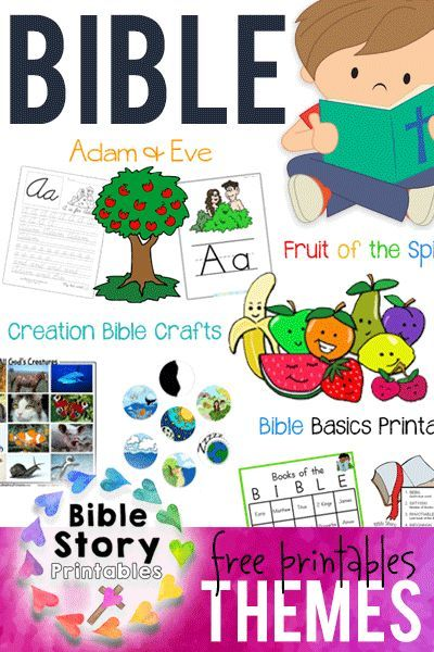 Free Bible Printables for a variety of Themes and Holidays!  Perfect for Sunday School, Homeschool or Children's Ministry. http://www.biblestoryprintables.com/BibleCrafts