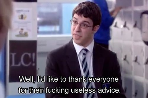 """Last of all, feel free to totally disregard all of this and find your own approach. 