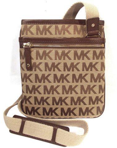 Michael Kors Signature Jet Set Small Crossbody Bag – HandbagChica