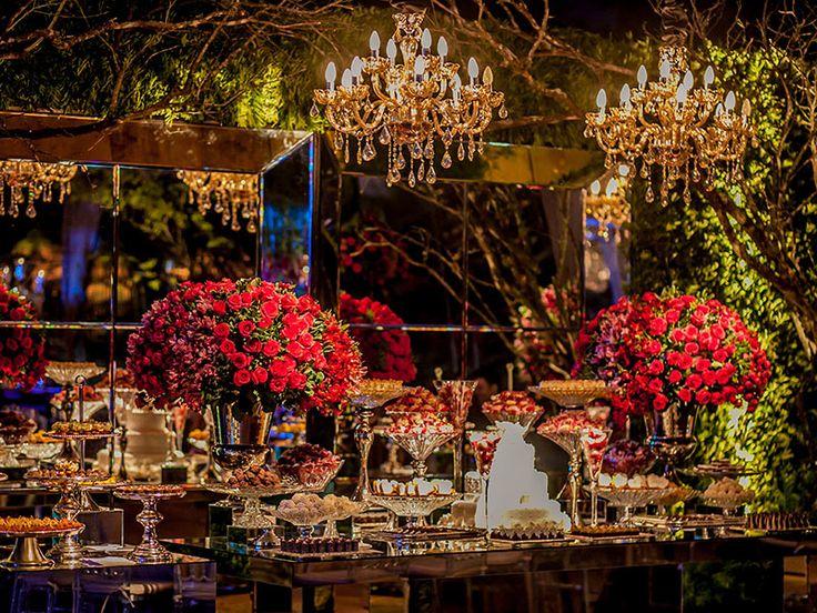 Decoração de Casamento com Pink, Marsala e Verde | Revista iCasei