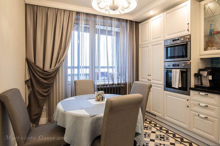 Кухня. Дизайн интерьера в Санкт-Петербурге на ул. Оптиков