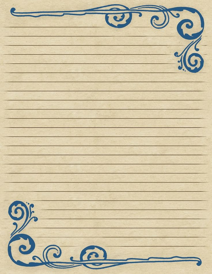 47 best Stationary Paper images on Pinterest Crafts, Printable - print college ruled paper
