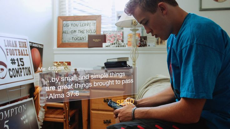 Mormon Message Shows Youth Texting to Prepare for Missions