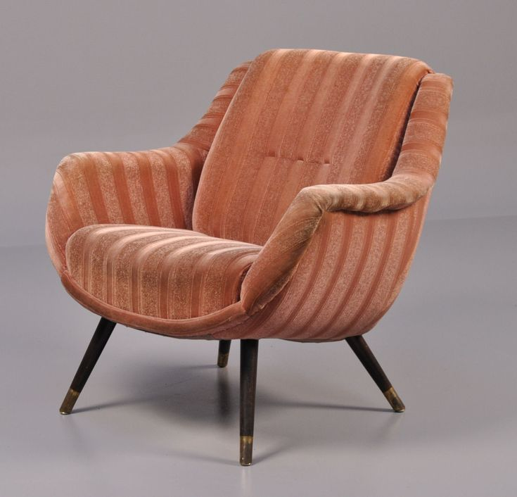 An Unusual Armchair Which We Bought In Denmark .