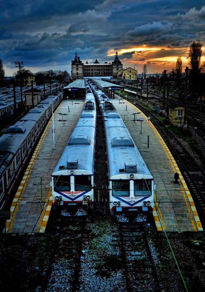 Haydarpasha Train Station , Istanbul