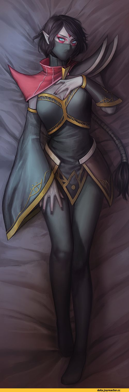 Dota Art,Dota,фэндомы,Templar Assassin,Lanaya, Templar Assassin,Noa,удалённое