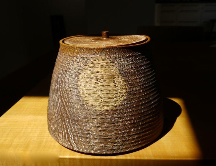 Limed Oakbox - ∅ 20cm, H 16cm