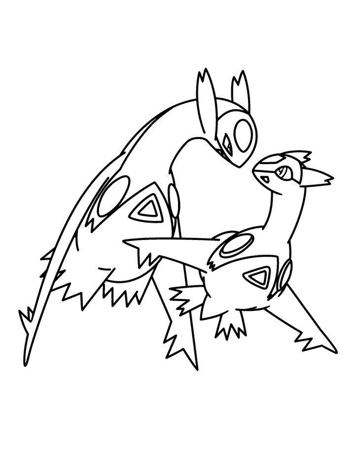 Pokemon advanced coloring pages Color Pokemon Legends Legendary