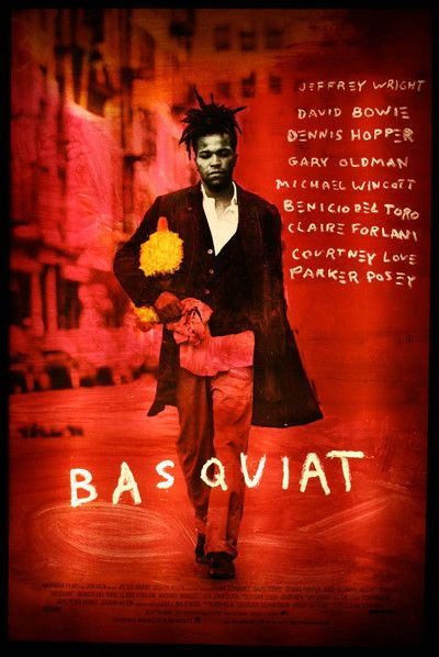 """Basquiat (1996)..any one who loves art needs to see this movie,,It was shot all over SOHO which was the """"place """"in the 80s.."""