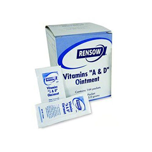 Rensow AD-606 Vitamins A&D Ointment 5 Gram Foil Packets 1...