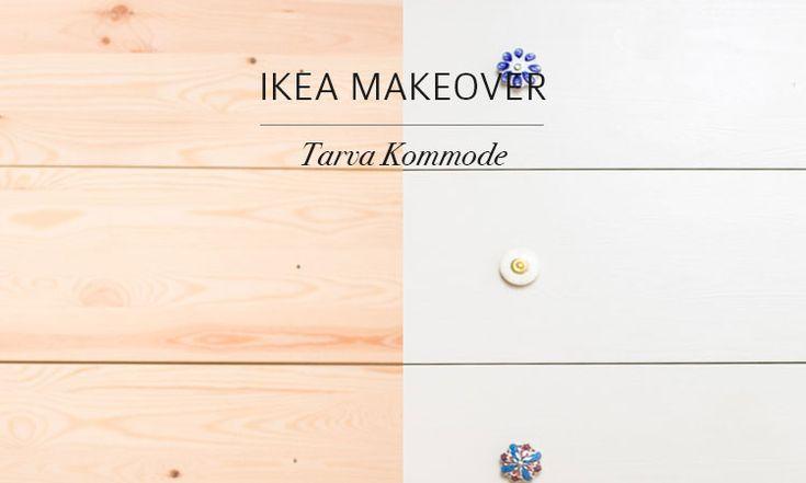 Ikea Tarva Kommode Gebraucht ~ Ikea makeover  Pimp my Tarva Kommode  http  www weibi at ikea