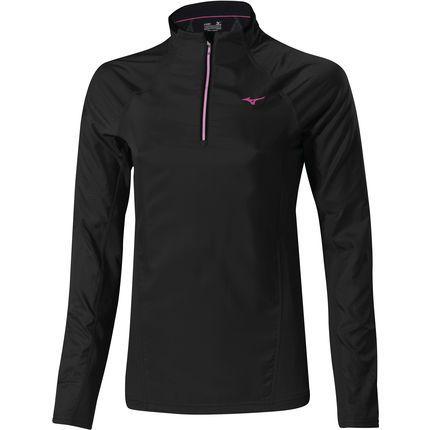 Wiggle España | Camiseta térmica para mujer Mizuno - Breath Thermo WindTop - OI14 | Cortavientos para correr