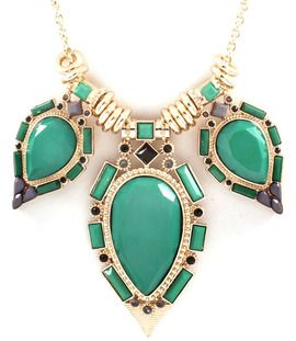 Green Isis Necklace