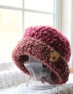 Ravelry: Youngster's Fluffy Chemo Cap pattern by Kris Moore