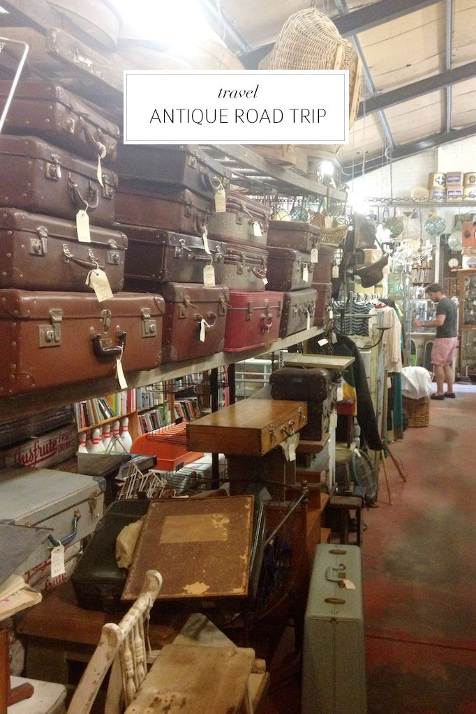 Antique road tripping