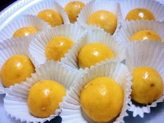 Old Fashion Yema Recipe:  1 can condensed milk, 3 egg yolk, 2 tbspbutter