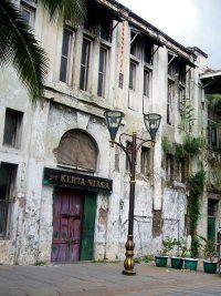 Renovation  Old Jakarta city , Kota Tua, Batavia