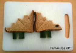 Dinosaur Food Recipes for Kids – Bento, Sandwiches, Snacks, Cookies and More