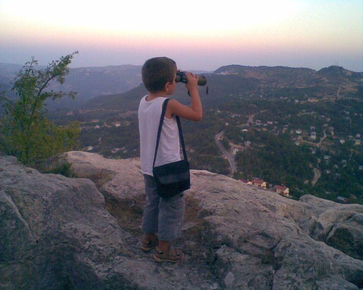 sakin,mutlu,huzur dolu Çamlıyayla'nın kalesinde...