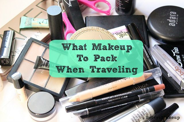 What Makeup To Pack When Traveling