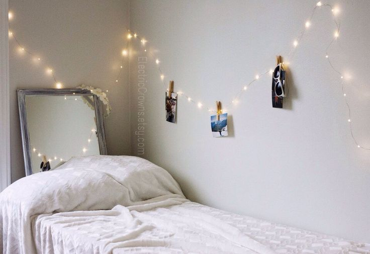 Ideas For Hanging String Lights In Bedroom : 25+ best ideas about Bedroom fairy lights on Pinterest Room lights, Fairy lights and Room goals