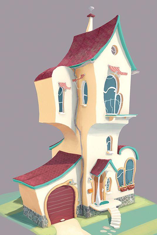 #дом #ритм Lorax concept art