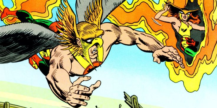 Hawkgirl and Hawkman's Origins to Be Explored on Arrow and Flash ...