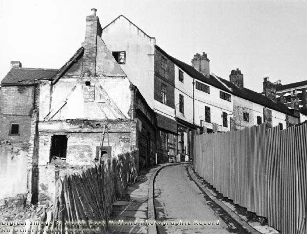 Drury Hill, Nottingham, 1970