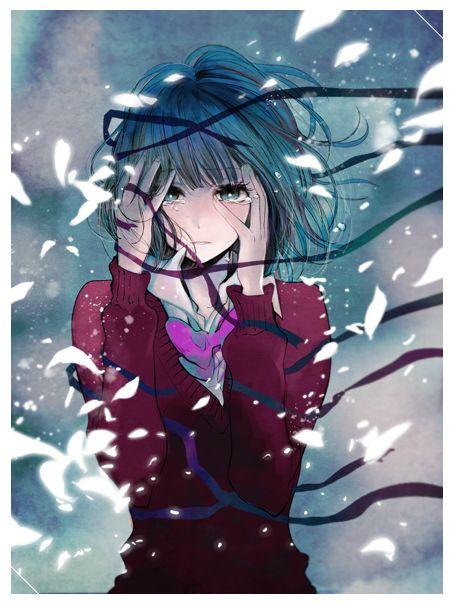 Não sei de que anime é, mas a imagem é linda!