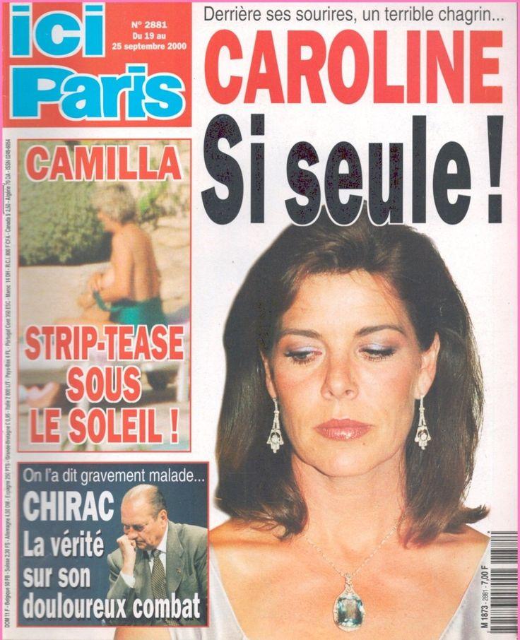 ▬►ICI PARIS 2881 CAROLINE DE MONACO_CINDY CRAWFORD_MICHAEL DOUGLAS_TOPALOFF | eBay