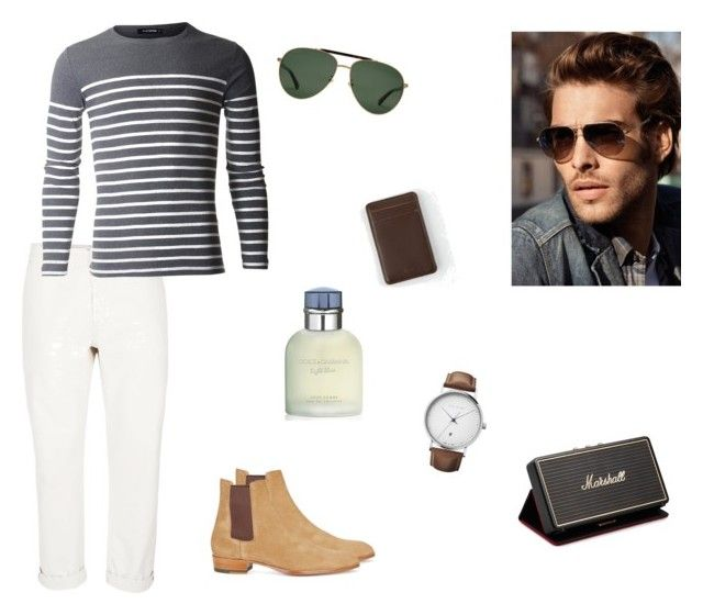 stripes by hilalozkan on Polyvore featuring Topman, Yves Saint Laurent, Georg Jensen, Gucci, RVCA, Marshall, Dolce&Gabbana, men's fashion and menswear