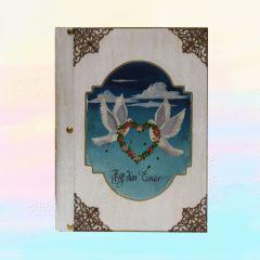 Βιβλίο Ευχών Γάμου | 123-mpomponieres.gr