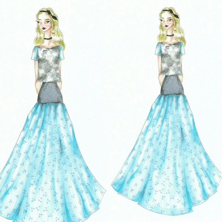 Wonderland (31)  Fashion sketch