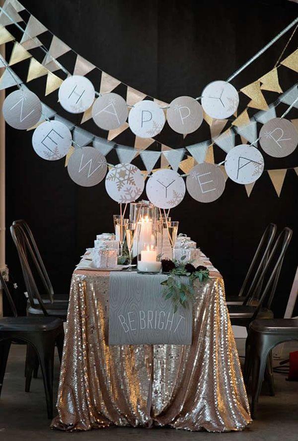 20 Wonderful New Year Eve Party Ideas