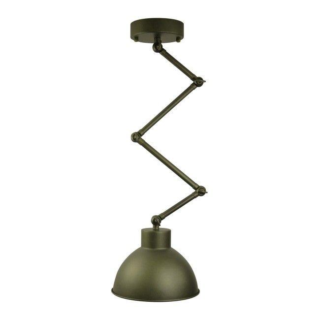 Lampa wisząca wisząca Molde 1 x 60 W E27 brązowa