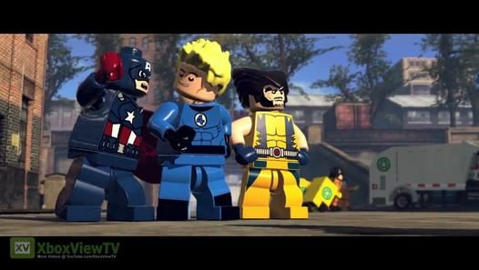 E3 2013: LEGO Marvel Super Heroes | Gameplay Trailer [DE] | HD - Video Dailymotion