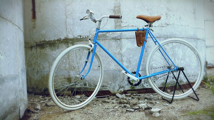"""""""Blue Hawk""""  Custom Handmade bicycle  Manufacure Your New Old Cycle  info:  yournewoldcycle@gmail.com   Price: 1190 EUR"""